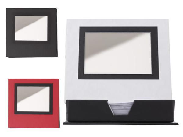 Set de Bureau Cartonné avec Miroir avec 150 Feuillets - visuel 2