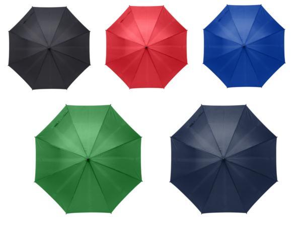 Parapluie Automatique avec Manche en Bambou - visuel 2