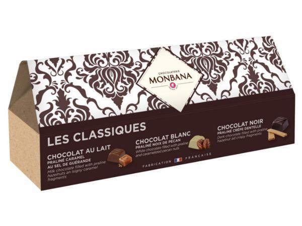 Le Ballotin des Classiques du Maître Chocolatier Monbana 215g