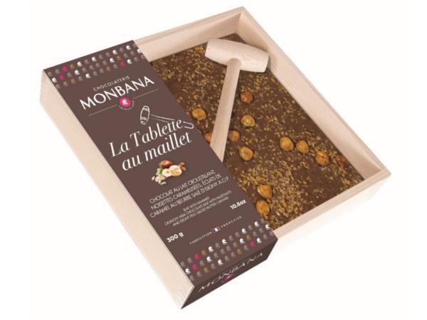 La Tablette Maillet Monbana Chocolat au Lait 300 g
