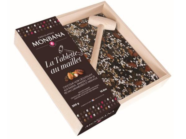 La Tablette Maillet Monbana Chocolat Noir Raisins 300 g