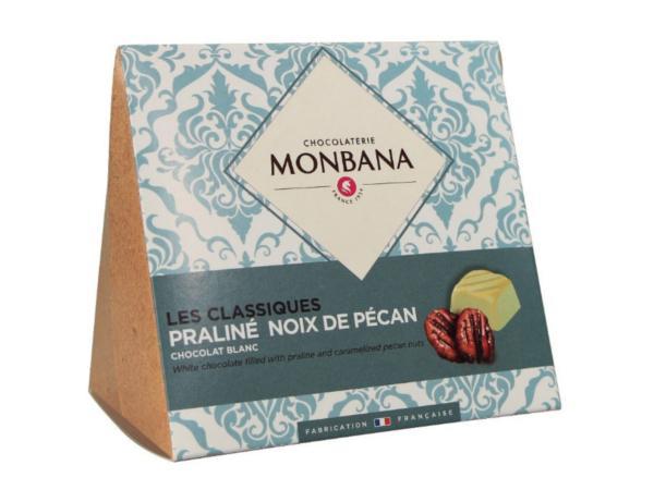 Les Classiques Chocolat Blanc Praliné Noix de Pécan 106g