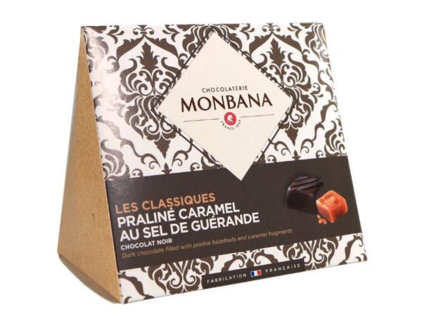 Les Classiques Chocolat Noir Caramel au Sel de Guérande 106 g
