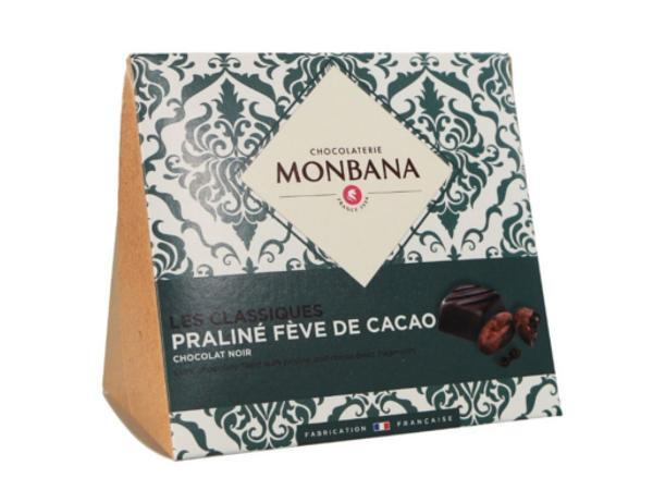 Les Classiques Chocolat Noir Praliné Fève de Cacao 106g