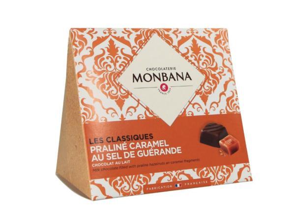 Les Classiques Chocolat au Lait Praliné Caramel  106g