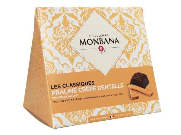 Les Classiques Chocolat au Lait Praliné Crêpe Dentelle 106g