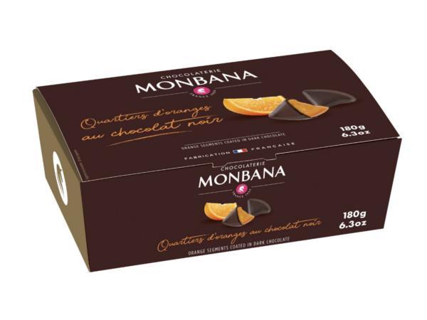 Ballotin de Quartiers d'Oranges MONBANA 200 g