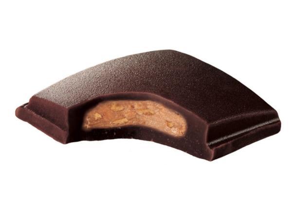 Barre Chocolat au Lait Praliné Pistache MONBANA 40 g - visuel 2