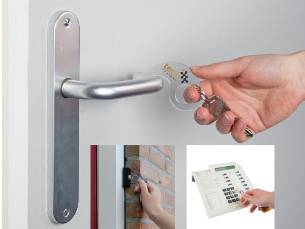 Ouvre Porte Sans Contact Aux  Multiples Protections - visuel 1