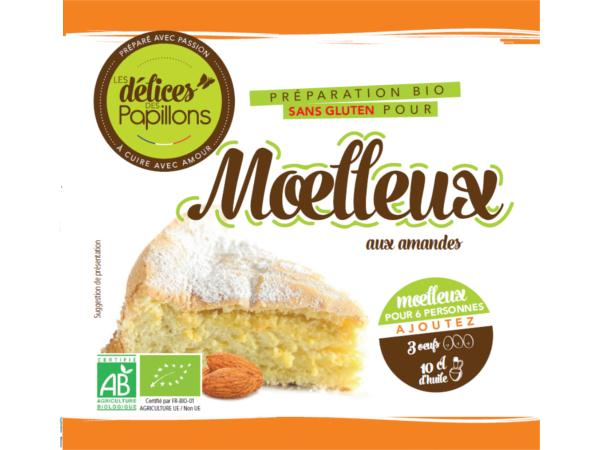Kits de Moelleux Bio sans Glutten aux Amandes 410g