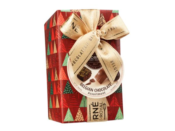 Ballotin 17 chocolats assortis SANS crème et SANS ALCOOL 235 g