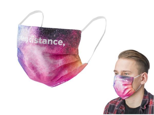 Masque Lavable Personnalisable en Quadri