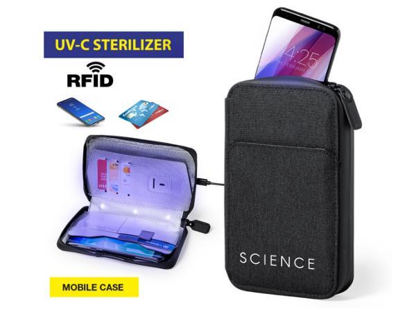 Organiseur et Stérilisateur à lumière UV Avec Protection RFID