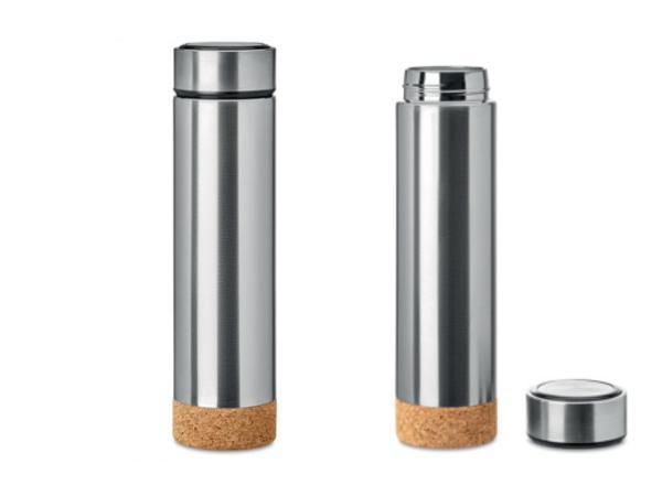 Bouteille Isotherme 450 ml à Double Paroi avec Infuseur - visuel 3