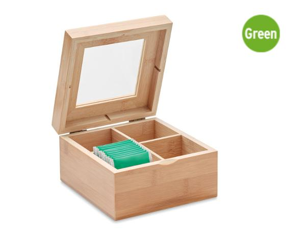 Boîte à Thé en Bambou - visuel 2