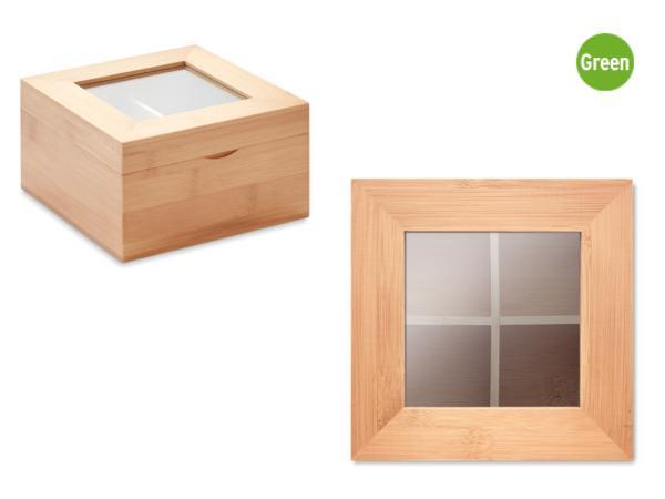 Boîte à Thé en Bambou - visuel 3
