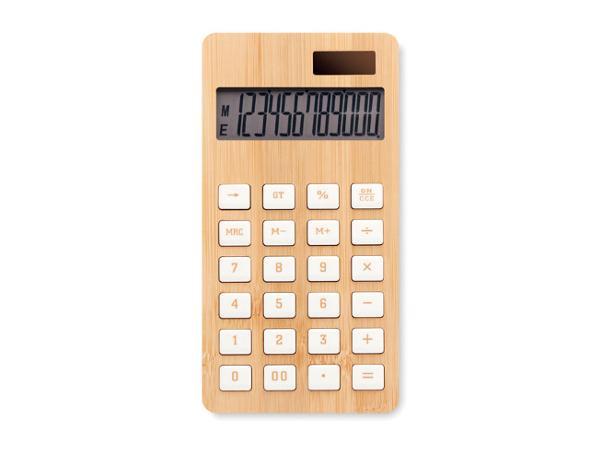 Calculatrice 12 Chiffres en Bambou - visuel 2