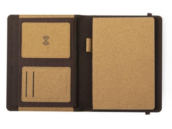 Porte-Document A5 avec Carnet et Chargeur sans Fil - visuel 3