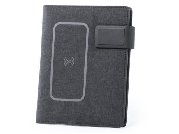 Conférencier avec Bloc Note, Clé USB 16 Gb et Powerbank 4000 mAh