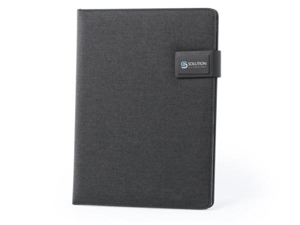 Conférencier A4 avec Powerbank 4000 mAh et Bloc Notes