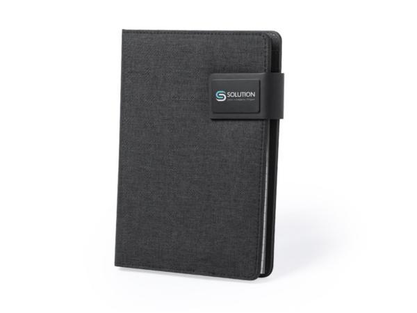 Conférencier A5 avec Powerbank 4000 mAh et Bloc Notes
