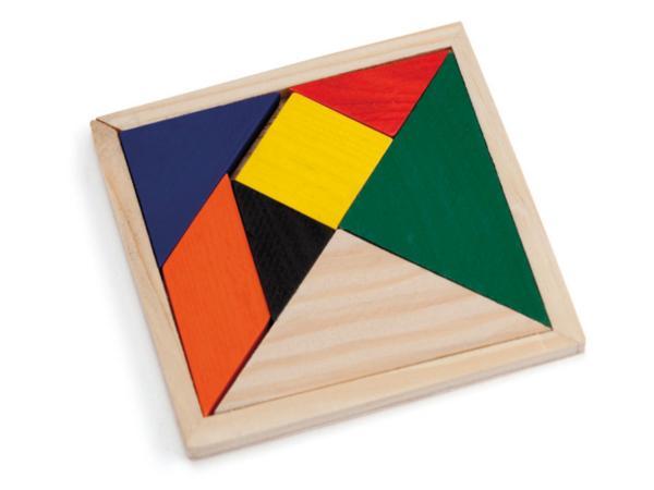 Puzzle en Bois Multicolores