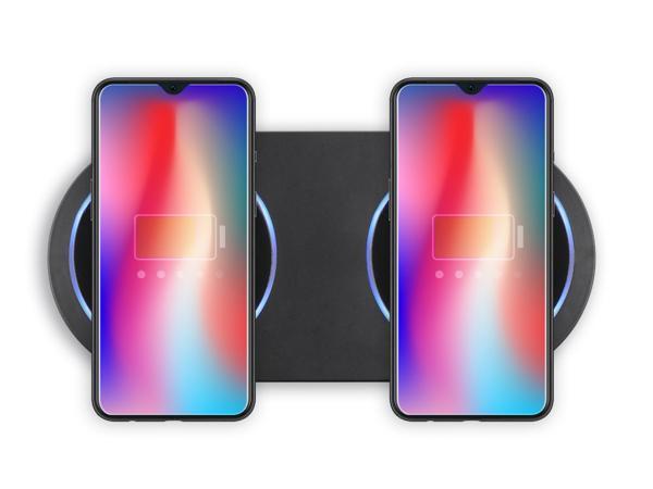 Double Chargeur à Induction  LIVOO 2 x 15 W - visuel 2