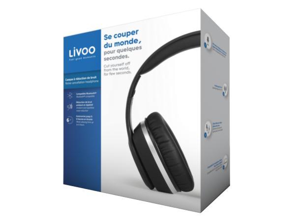 Casque à Réduction de Bruit LIVOO Compatible Bluetooth - visuel 3