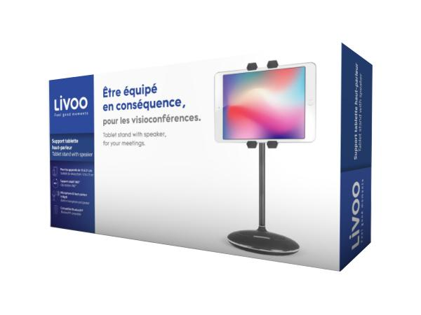 LIVOO Support Tablette et Enceinte  - visuel 3
