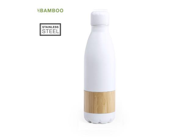 Bidon de 750 ml Bande Centrale en Bambou