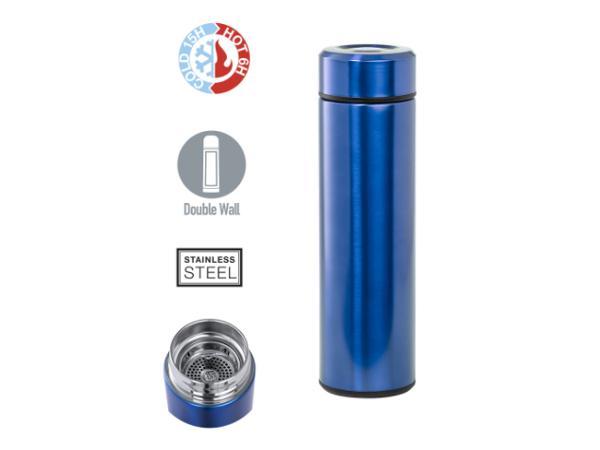 Thermos de 500 ml Double Paroi Conservant  Chaud ou Froid