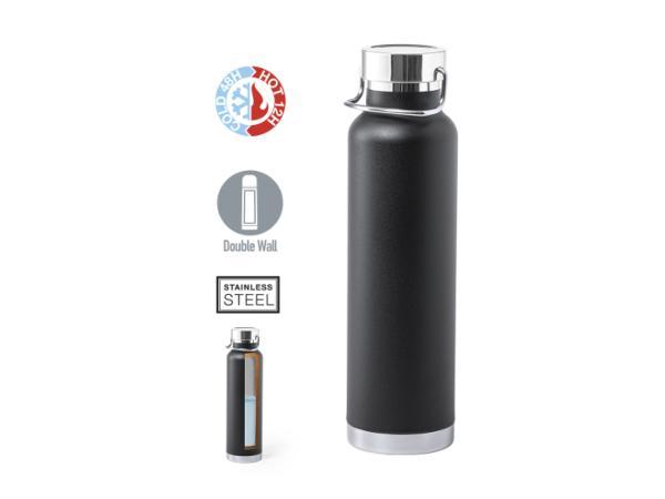 Thermos de 650 ml Double Paroi Conservant  Chaud ou Froid - visuel 1