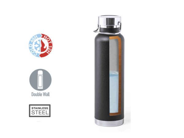 Thermos de 650 ml Double Paroi Conservant  Chaud ou Froid - visuel 2