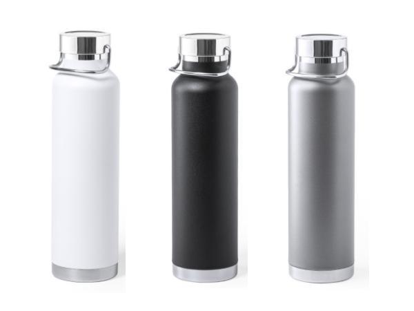 Thermos de 650 ml Double Paroi Conservant  Chaud ou Froid - visuel 3