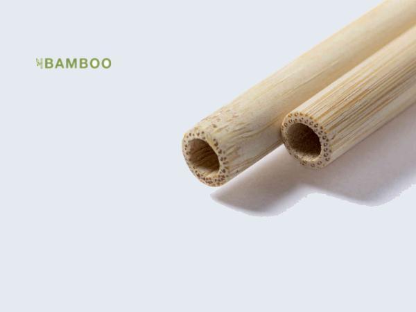 Set de Pailles Réutilisables en Bambou  - visuel 2