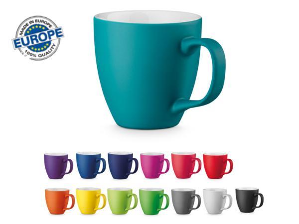 Tasse en Porcelaine Finition Mat de 450 ml en Boîte Individuelle