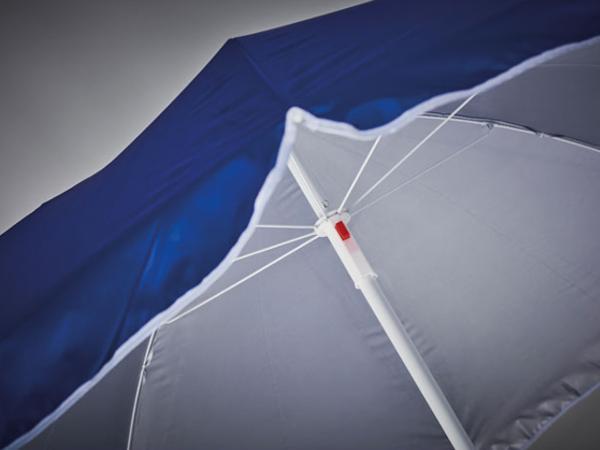 Parasol avec Revêtement Intérieur Anti-UV de Ø 150 cm - visuel 2