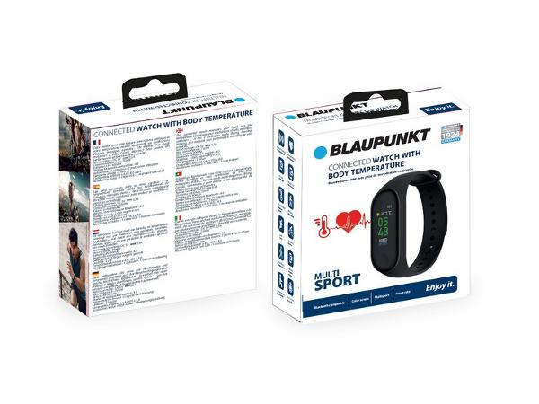 Bracelet Connecté avec Cadran Tactile BLAUPUNKT