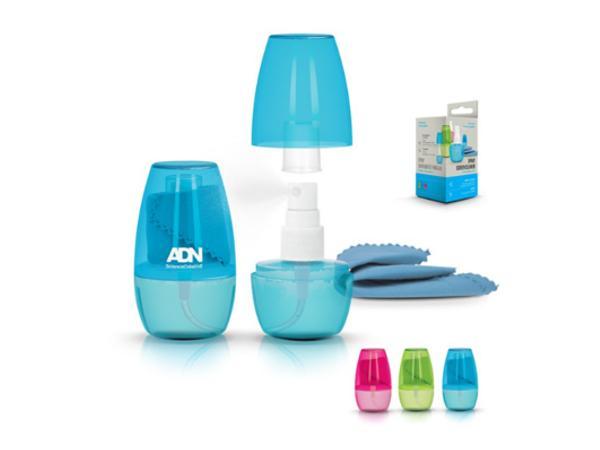 Spray de 40 ml Rechargeable avec Chiffonnette Antistatique