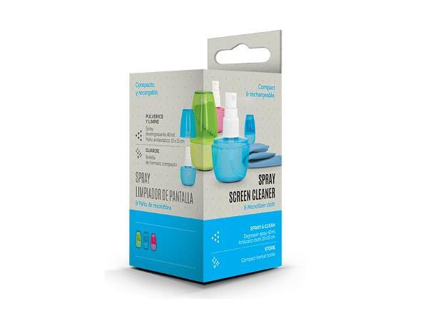 Spray de 40 ml Rechargeable avec Chiffonnette Antistatique - visuel 3