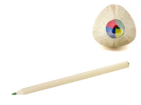 Crayon Multi couleur en Bois