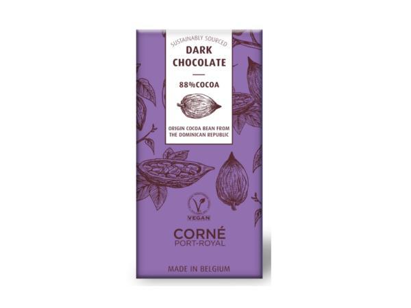 Tablette de 70 g Chocolat Noir 88 %