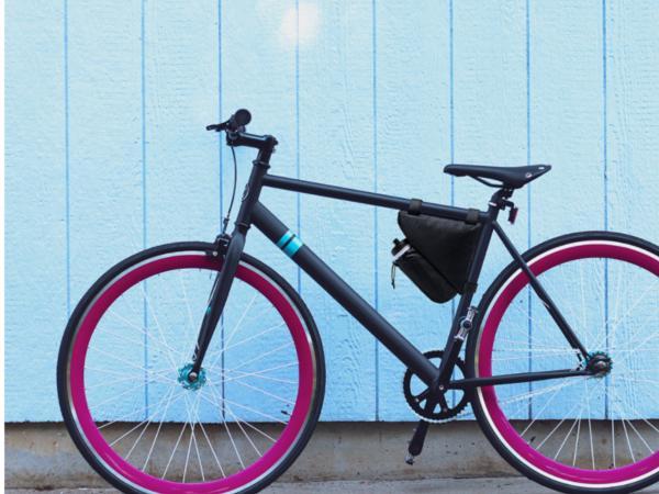 Sac à Vélo avec Compartiments Papiers et Gourde