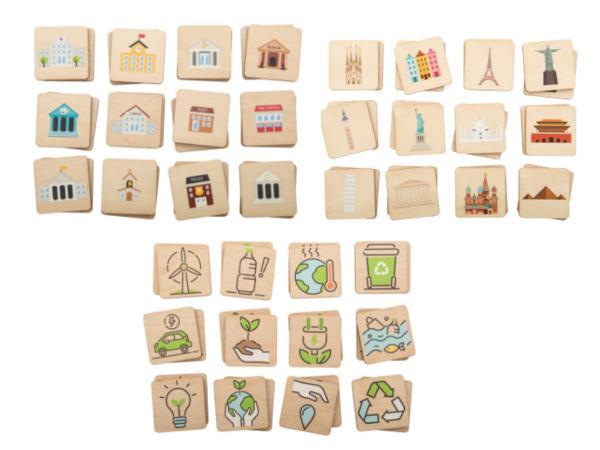 Jeu de Mémoire pour Enfants en Bois - visuel 3