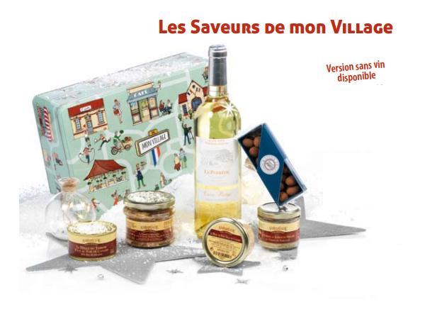 Colis Gastronomiques. Les Saveurs De Mon Village SANS VIN