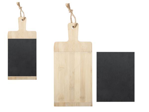 Planche à Découper en Bambou et Ardoise - visuel 3