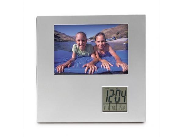 Cadre Photo Horloge Thermometre
