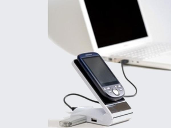 Support Téléphone + HUB USB